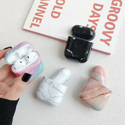 1df6888b922 For Apple AirPods Case protect Marble Cover Skin AirPod Earphone Charger  Cases