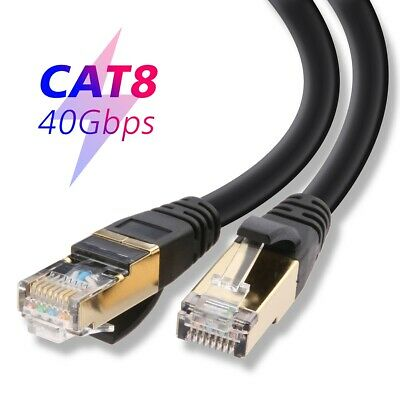 1.5Ft Shielded SFTP 100MHz Cat5 RJ45 LAN Network Ethernet Crossover Patch Cable