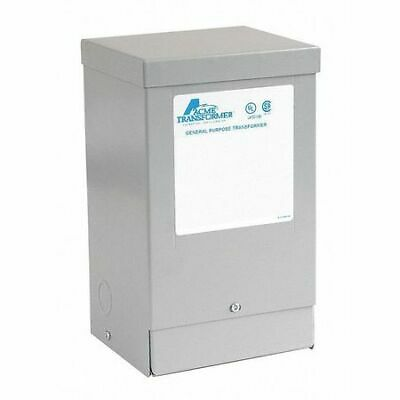 ACME ELECTRIC T181219 Transformer 1PH 2KVA 240X480-120