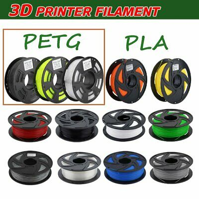 3D Printer Filament 1.75mm PLA PETG 1KG/Roll Colours Engineer Drawing Art 31