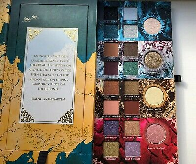 100% Authentic Urban Decay Game Of Thrones Eyeshadow Palette Book of Shadows UK