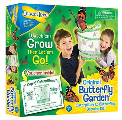 Insect Lore Butterfly Garden NEW