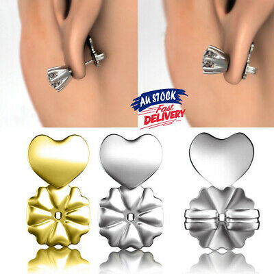 Earrings Ear Studs Auxiliary Magic Bax Backs Support Lifts Hypoallergenic Fits