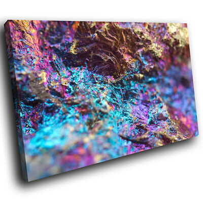 Colourful Cool Funky Abstract Canvas Wall Art Large Picture Prints