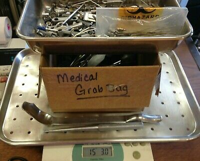 15+ LBS ~ LOT ~MEDICAL SURGICAL ORTHOPEDIC INSTRUMENTS SUPPLIES *SEE PHOTOS  *1t