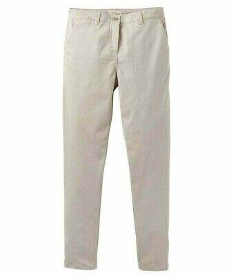 Joules Women's Hesford Chinos - Ivory Beige - Size 18 - RRP £50