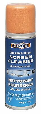 Emzone LED, LCD & Plasma Foam Screen Cleaner with Cloth 47046