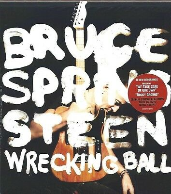 Bruce Springsteen / Wrecking Ball - Special Edition Oversized Softpack Cd * New
