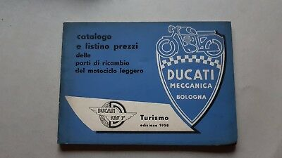 Ducati 125 T Turismo 1958 catalogo ricambi originale spare parts catalogue