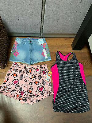 Girls Top and Shorts Outfit Bundle