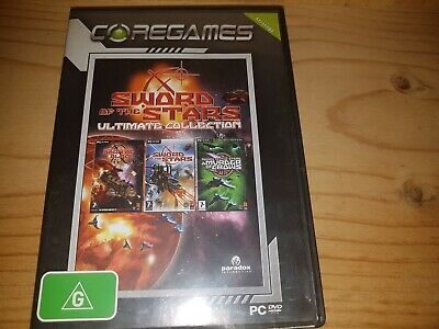 SWORD OF THE STARS: ULTIMATE COLLECTION PC DVD Rom Game VGC