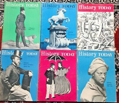 History Today - 6 editions from 1964