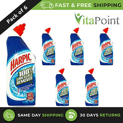 Harpic Limescale Remover Fresh 750 ml pack of 6