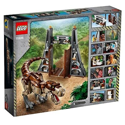 NEW - LEGO Jurassic World: Jurassic Park T. Rex Rampage Excl. Set 75936 - Sealed