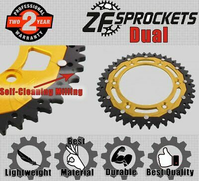 ZF Dual Rear Sprocket 44T 520P Gold  for KTM EXC