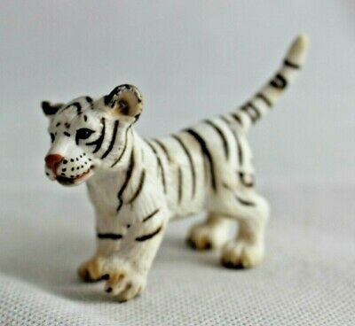 2003 Schleich White Tiger Cub Animal Collectible FREE SHIPPING