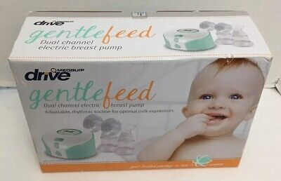 NEW SEALED Medquip Drive Gentle Feed Dual Automatic Electric Breast Pump MQ9120