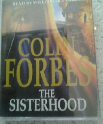 The Sisterhood by Colin Forbes, Audio Cassette Book,