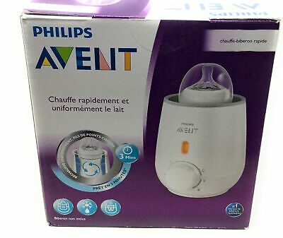 Philips Avent Fast Bottle Warmer Ready in 3 Minutes NIB