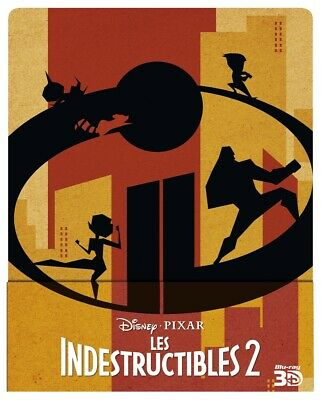 Brad Bird - Les Indestructibles 2 - 3D+2D - Steelbook