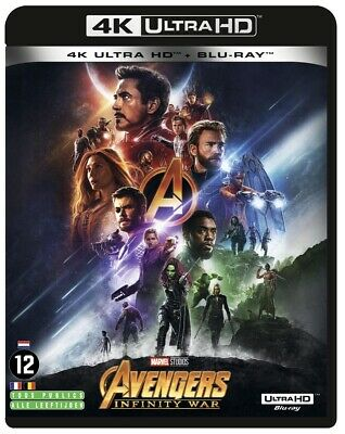 Anthony Russo - Avengers - Infinity War - 4K+2D (2 Disc)