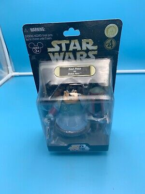 Disney Parks Star Wars 2010 Star Tours Bad Pete As Boba Fett Series 4 Figure