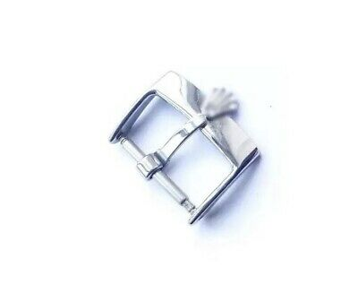 18Mm Stainless Steel Watch Strap Buckle, Will Fit 20Mm Rolex Leather Strap