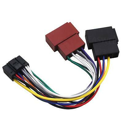 Wiring & Wiring Harnesses JVC 16 Pin Car Stereo Radio ISO ... on trailer wiring harness, jvc car stereo gauges, jvc car stereo connectors, car audio wiring harness, jvc kw avx710 manual, jvc kdx 250, jvc car stereo faceplate, jvc wiring harness adapter, jvc kd s28 wiring-diagram, jvc harness diagram, radio wiring harness, jvc car stereo wire colors, pioneer wiring harness, jvc wiring harness color coating, jvc cd receiver manual, jvc car stereo manual, jvc car speaker, painless wiring harness, jvc support,