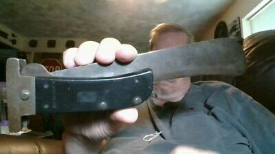 1944 Dated Wwii Usaaf Bomber Crew Folding Machete British Made, Key Trademark