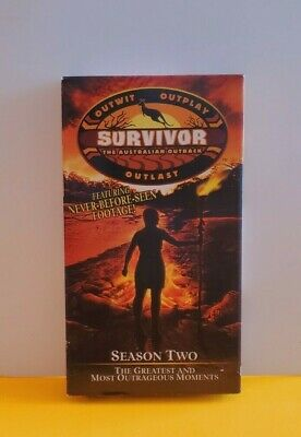 VHS Survivor Season Two Australia The Greatest and Most Outrageous Moments
