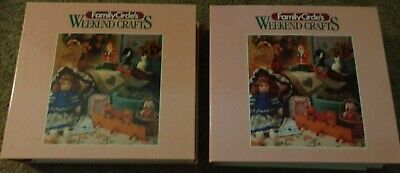 Family Circle's Weekend Crafts Binders (2 Full 3-Ring Binders of Crafts)