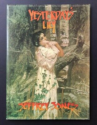 Yesterday's Lily by Jeffrey Jones Art & Comics Dragon's Dream 1980