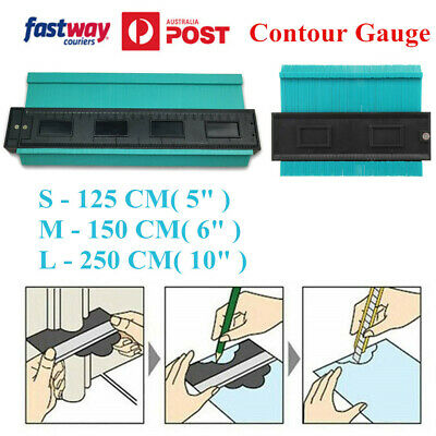 Blue Contour Gauge Duplicator Instant Template Tool Irregular Outline Copy Ruler