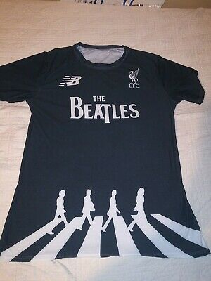 quality design 663c4 122ea LIVERPOOL FC FOOTBALL Shirt The Beatles special edition Jersey Rare Black