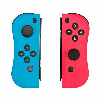 Left + Right Joy-Con Game Controllers Gamepad for Nintendo Switch Console color