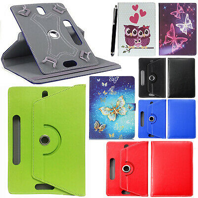 """For Lenovo Tab E8 8"""" 2019 Tablet 360° Universal PU Leather Flip Stand Case Cove"""