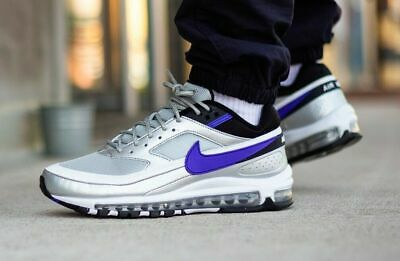 NIKE AIR MAX 97BW Trainers Silver Bullet Persian Violet