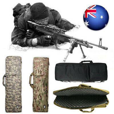 "40"" Gun Case Hunting Tactical Rifle Fishing Bag Carrying For Rifle With Strap WQ"