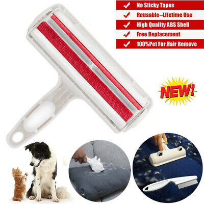 Reusable Picker Cleaner Lint Roller Dog Cat Hair Remover Pet Shedding Brush Tool
