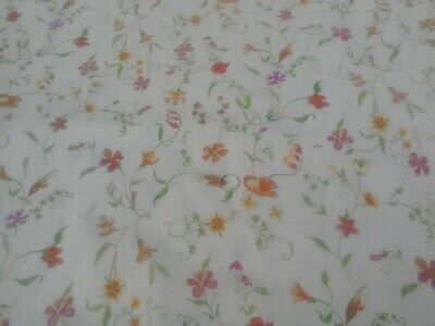 Bright butterflies butterfly 100/% cotton soft flannelette remnant craft material