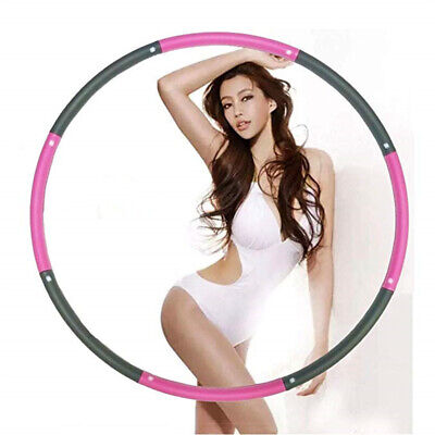 New Weighted Gym Hula Hoop Fitness Workout/Exercise Ring Hoola Massager