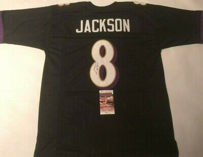 cheap for discount 10785 2bf53 LAMAR JACKSON SIGNED Baltimore Ravens Autographed Jersey ...