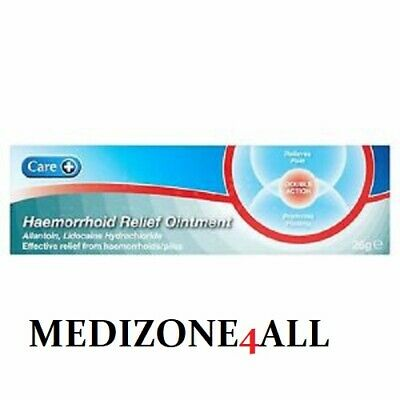 HAEMORRHOID / Hemorrhoid Piles,RELIEF OINTMENT CREAM 25g FREE POSTAGE BEST PRICE