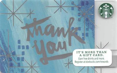 Starbucks Winter Thank You 2014 Gift Card Collectible NEW NV - Pin Covered