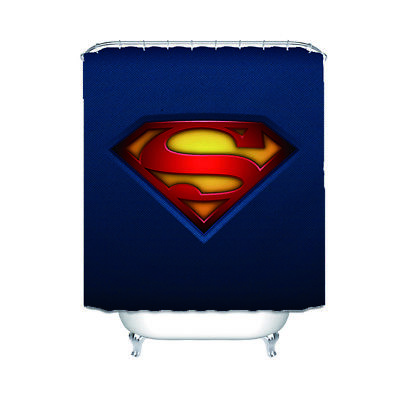 "Rideau de douche 65/"" The Revenger Superman Hero Bathroom Shower Curtain"