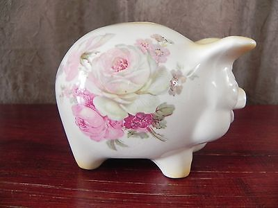 Old Foley James Kent Ceramic Piggy Bank Made In England