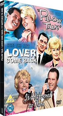 Doris Day, Tony Randall-Pillow Talk/Lover Come Back/It Happened to Jane DVD NEW