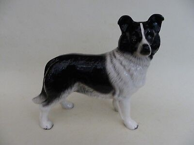 Coopercraft Border Collie Dog Figurine.