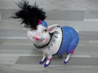 Very nice piggybank Money box lady pig coin bank ornament decorative girls gift