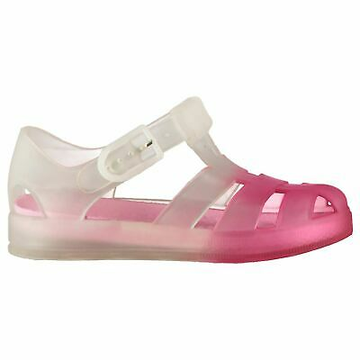 Kids SoulCal Infant Jelly Sandals Flat Buckle New